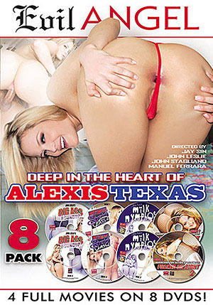 Deep In The Heart of Alexis Texas (8 Disc Set)