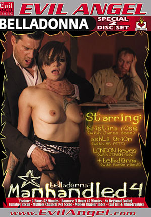 Belladonna: Manhandled 4 (2 Disc Set)