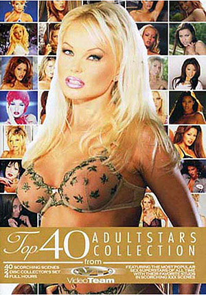 Top 40 Adult Stars Collection 1 (2 Disc Set)