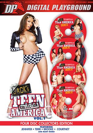 Jack's Teen America 4 Pack (4 Disc Set)