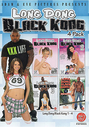 Long Dong Black Kong 4 Pack ^stb;4 Disc Set^sta;