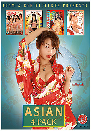 Asian 4 Pack (4 Disc Set)