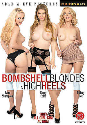 Bombshell Blondes In High Heels