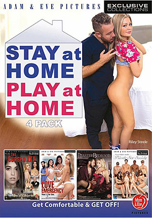 Stay At Home Play At Home 4 Pack (4 Disc Set)