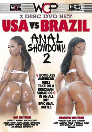 USA vs. Brazil: Anal Showdown 2 (2 Disc Set)