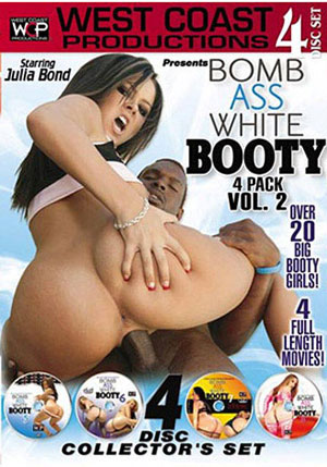 Bomb Ass White Booty 4 Pack 2 (4 Disc Set)