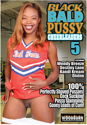 Black Bald Pussy Cheerleaders 5