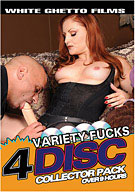 Variety Fucks (4 Disc Set)
