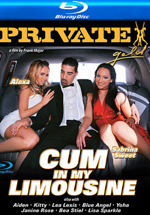 Private Gold 108: Cum In My Limousine (Blu-Ray)