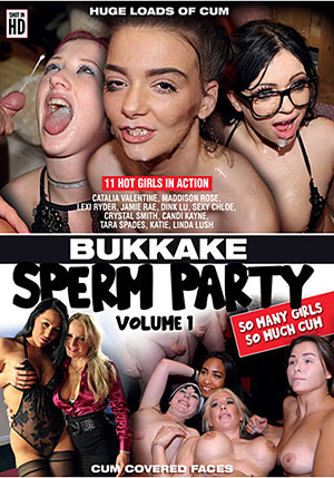 Bukkake Sperm Party