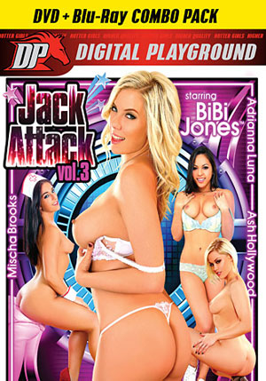 Jack Attack 3 (Blu-Ray + DVD)
