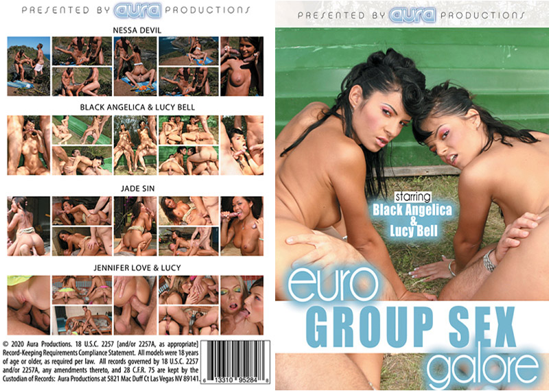 Euro Group Sex Galore Adult Movie