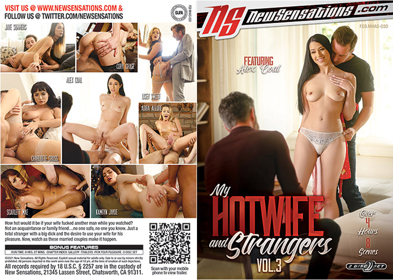 My Hotwife And Strangers 3 (2 Disc Set) Adult Movie