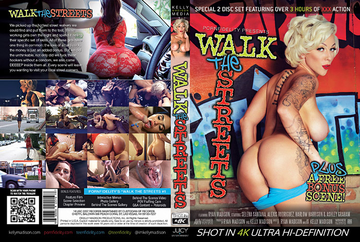 Walk The Streets (2 Disc Set) Adult Movie