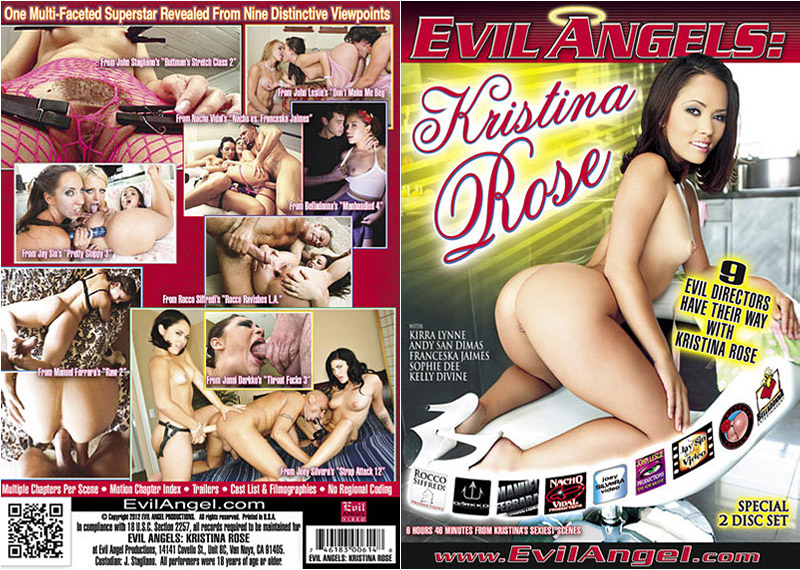 Evil Angels: Kristina Rose (2 Disc Set) Adult Movie