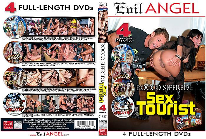 Rocco Siffredi: Sex Tourist (4 Disc Set) Adult Movie