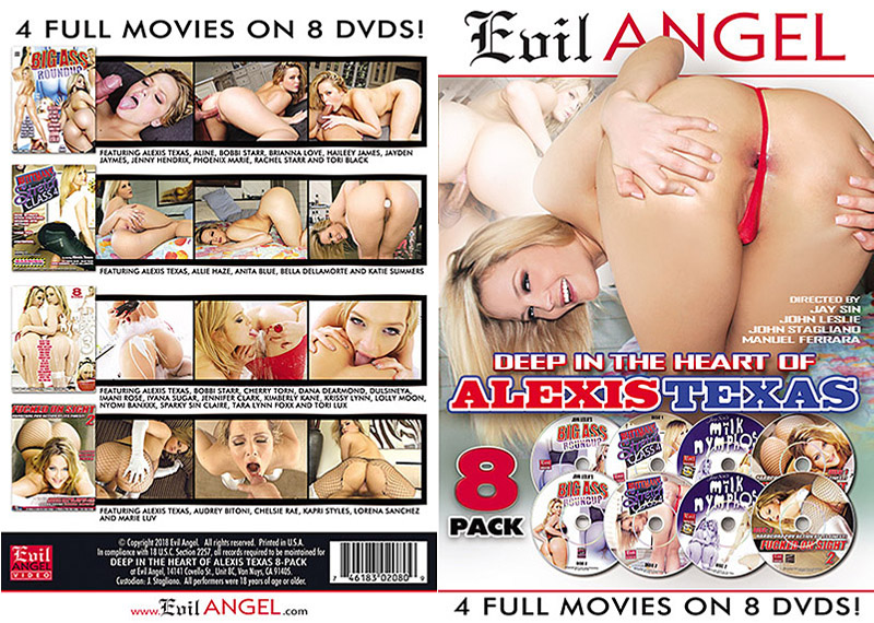 Deep In The Heart of Alexis Texas (8 Disc Set) Adult Movie