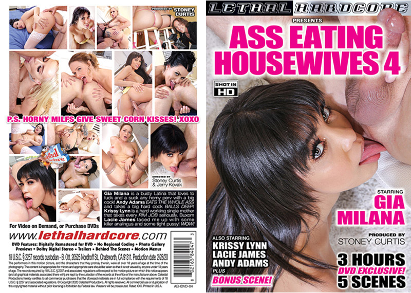 Ass Eating Housewives 4 Adult Movie