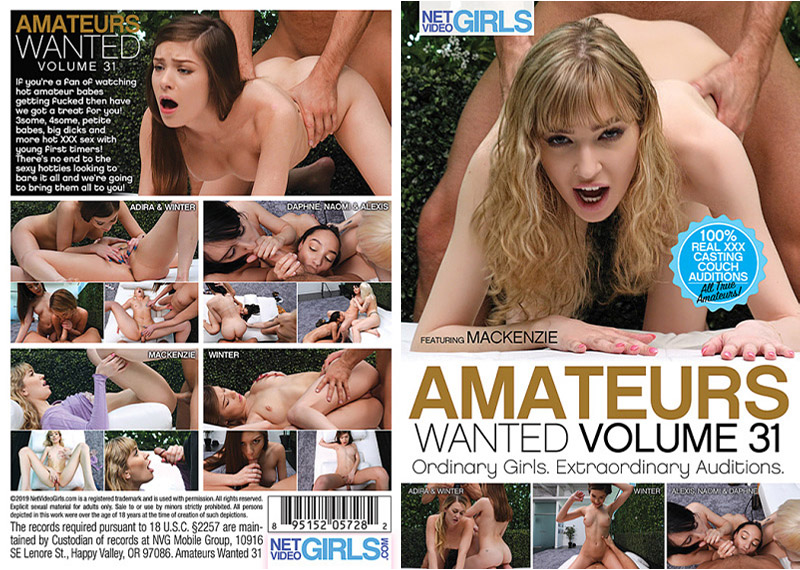 Amateurs Wanted 31 Adult Movie