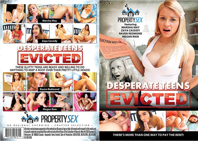 Desperate Teens Evicted 1 Adult Movie
