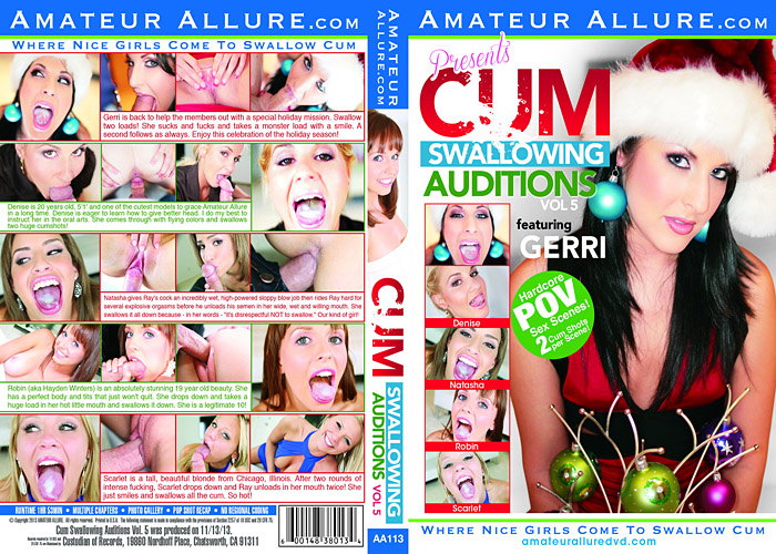 Cum Swallowing Auditions 5 Adult Movie